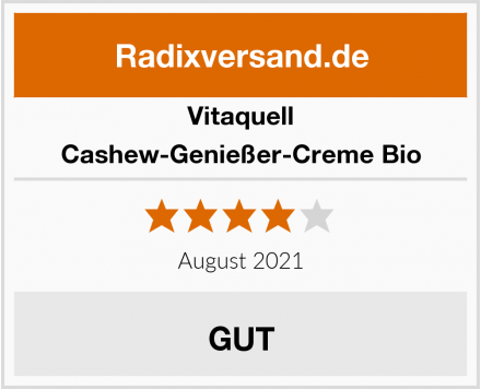 Vitaquell Cashew-Genießer-Creme Bio Test
