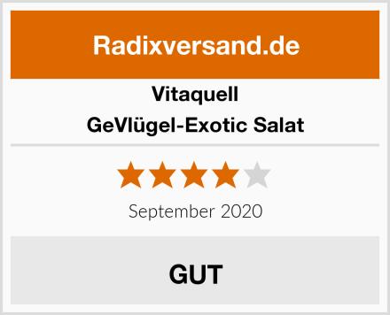 Vitaquell GeVlügel-Exotic Salat Test