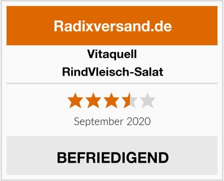 Vitaquell RindVleisch-Salat Test