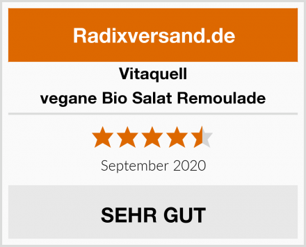 Vitaquell vegane Bio Salat Remoulade Test
