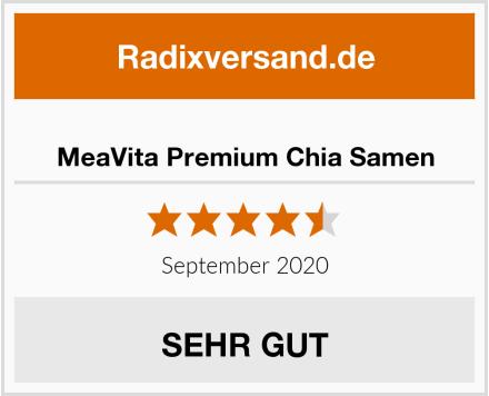 MeaVita Premium Chia Samen Test