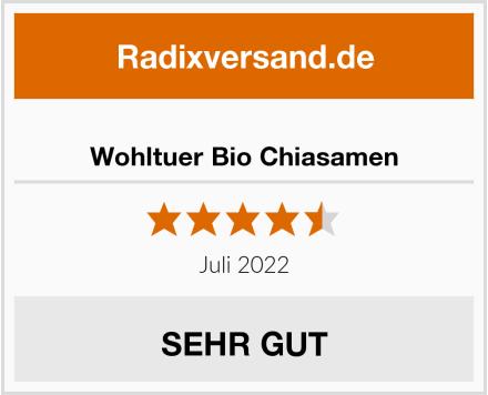 Wohltuer Bio Chiasamen Test
