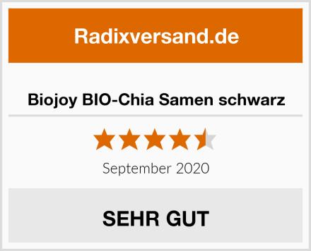 Biojoy BIO-Chia Samen schwarz Test