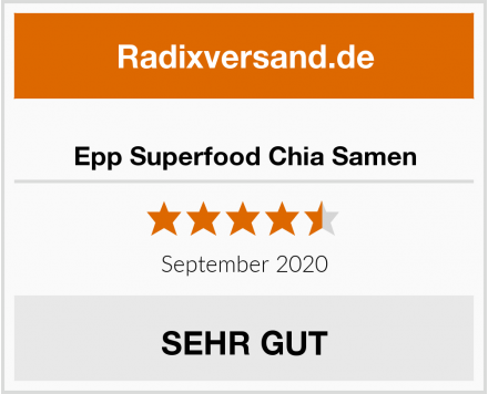 Epp Superfood Chia Samen Test