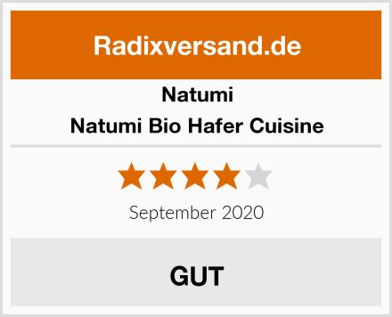 Natumi Natumi Bio Hafer Cuisine Test