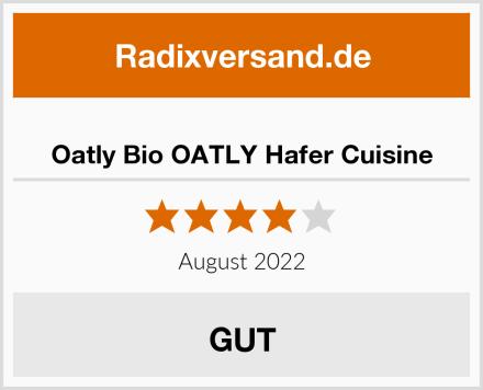 Oatly Bio OATLY Hafer Cuisine Test