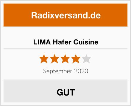 LIMA Hafer Cuisine Test