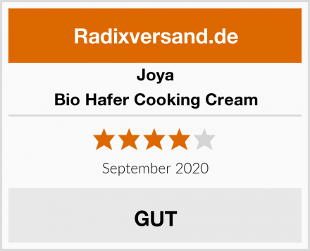 Joya Bio Hafer Cooking Cream Test
