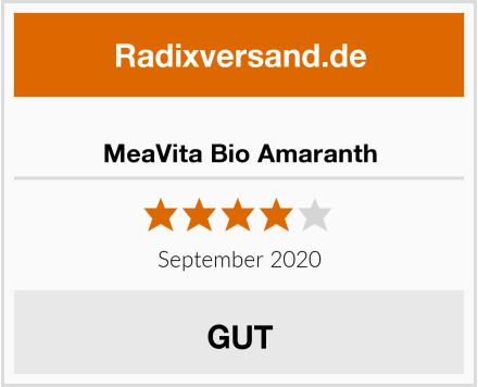 MeaVita Bio Amaranth Test