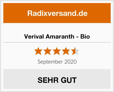 Verival Amaranth - Bio Test