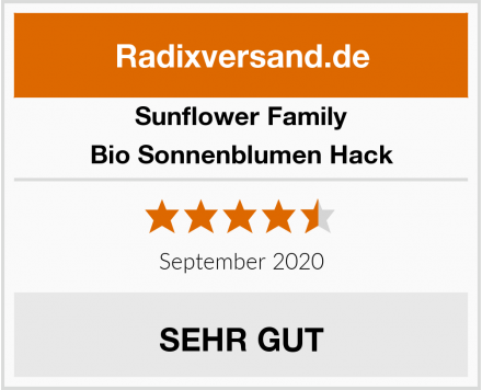 Sunflower Family Bio Sonnenblumen Hack Test