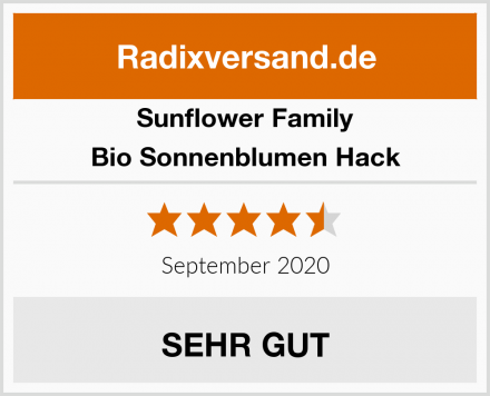Sunflower Family Bio Sonnenblumen Hack Test