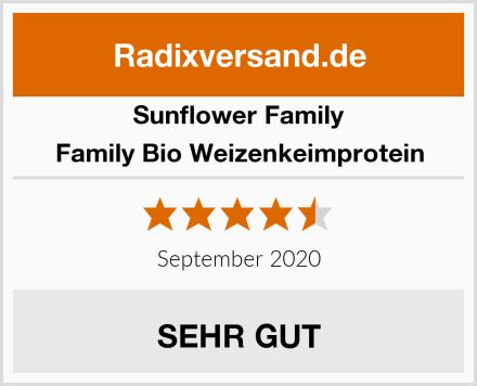 Sunflower Family Family Bio Weizenkeimprotein Test