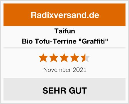 """Taifun Bio Tofu-Terrine """"Graffiti"""" Test"""