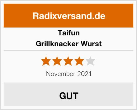 Taifun Grillknacker Wurst Test