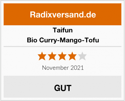 Taifun Bio Curry-Mango-Tofu Test