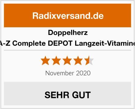 Doppelherz A-Z Complete DEPOT Langzeit-Vitamine Test
