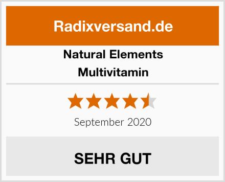 natural elements Multivitamin Test