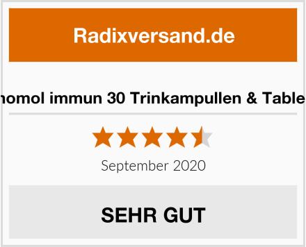 Orthomol immun 30 Trinkampullen & Tabletten Test