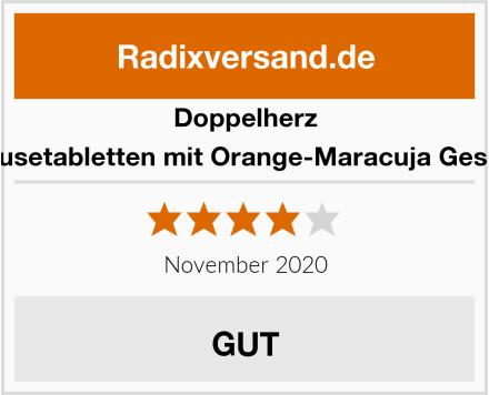 Doppelherz A-Z Brausetabletten mit Orange-Maracuja Geschmack Test