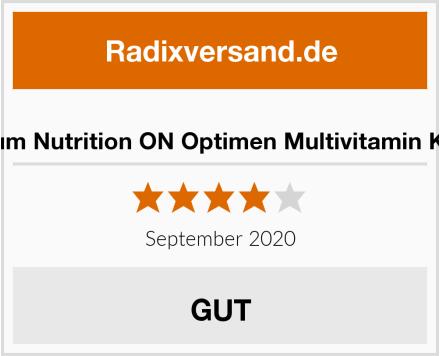 Optimum Nutrition ON Optimen Multivitamin Kapseln Test