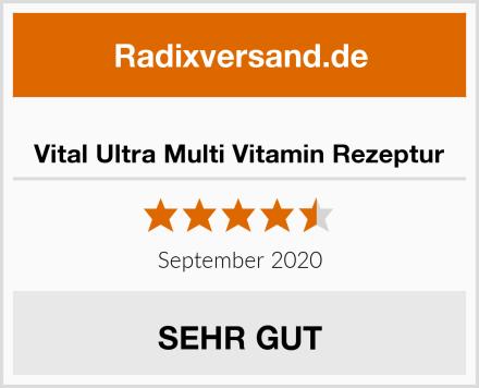 Vital Ultra Multi Vitamin Rezeptur Test