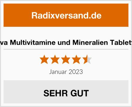 Deva Multivitamine und Mineralien Tabletten Test