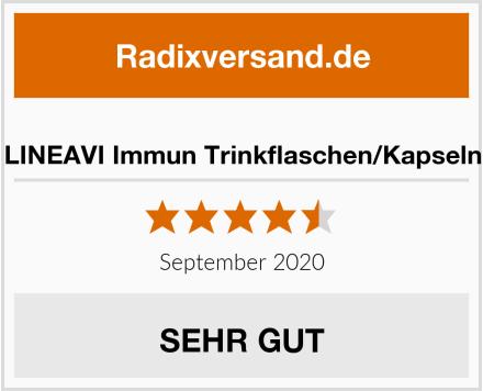 LINEAVI Immun Trinkflaschen/Kapseln Test