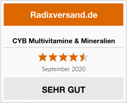 CYB Multivitamine & Mineralien Test