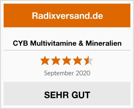 CYB Multivitamine & Mineralien Test