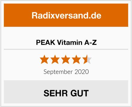 PEAK Vitamin A-Z Test