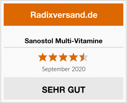 Sanostol Multi-Vitamine Test