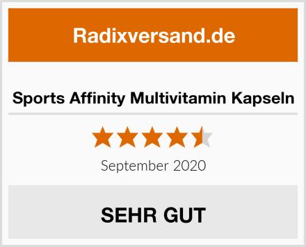 Sports Affinity Multivitamin Kapseln Test