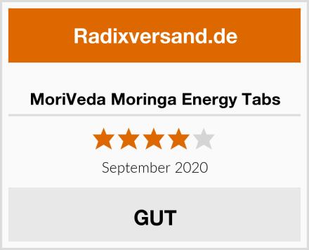 MoriVeda Moringa Energy Tabs Test