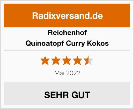 Reichenhof Quinoatopf Curry Kokos Test