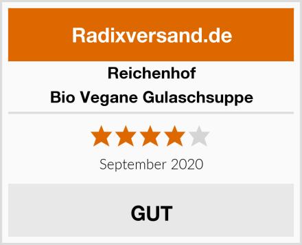 Reichenhof Bio Vegane Gulaschsuppe Test