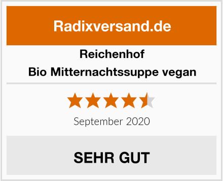 Reichenhof Bio Mitternachtssuppe vegan Test
