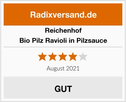 Reichenhof Bio Pilz Ravioli in Pilzsauce Test