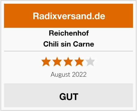 Reichenhof Chili sin Carne Test