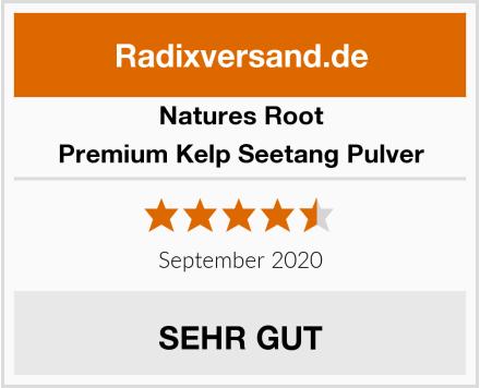 Natures Root Premium Kelp Seetang Pulver Test