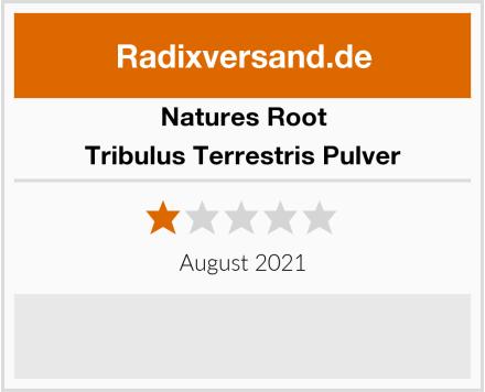 Natures Root Tribulus Terrestris Pulver Test