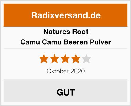 Natures Root Camu Camu Beeren Pulver Test