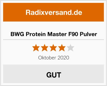 BWG Protein Master F90 Pulver Test