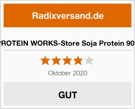 THE PROTEIN WORKS-Store Soja Protein 90 Isolat Test