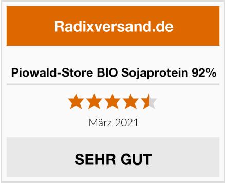 Piowald-Store BIO Sojaprotein 92% Test
