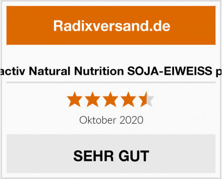 Vitactiv Natural Nutrition SOJA-EIWEISS plus Test