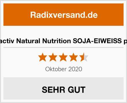 Vitactiv Natural Nutrition SOJA-EIWEISS plus Test