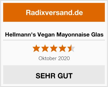 Hellmann's Vegan Mayonnaise Glas Test