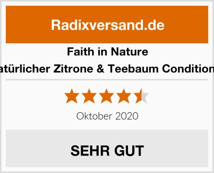 Faith in Nature Natürlicher Zitrone & Teebaum Conditioner Test