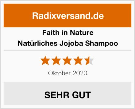 Faith in Nature Natürliches Jojoba Shampoo Test